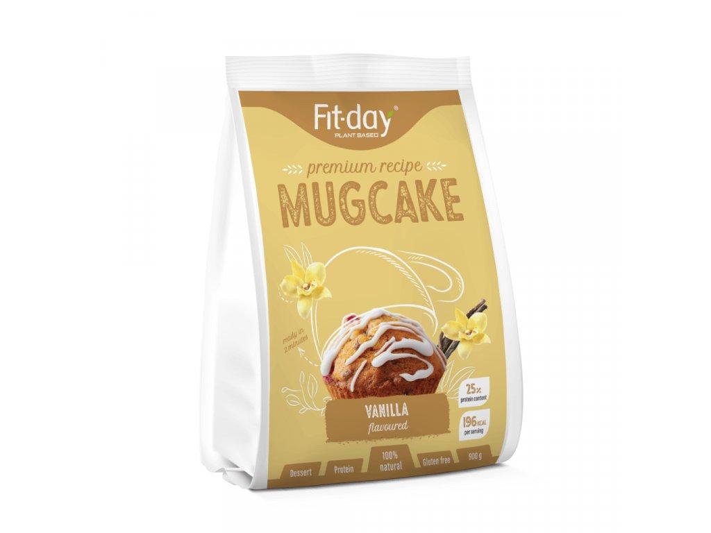 Fit day protein mugcake vanilka