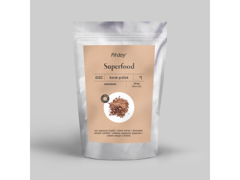 superfood karob prasek 100g