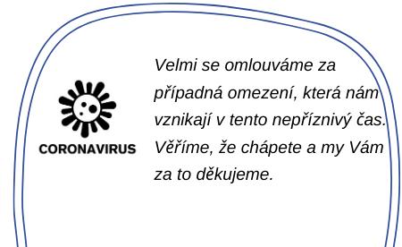 Omezení koronavir