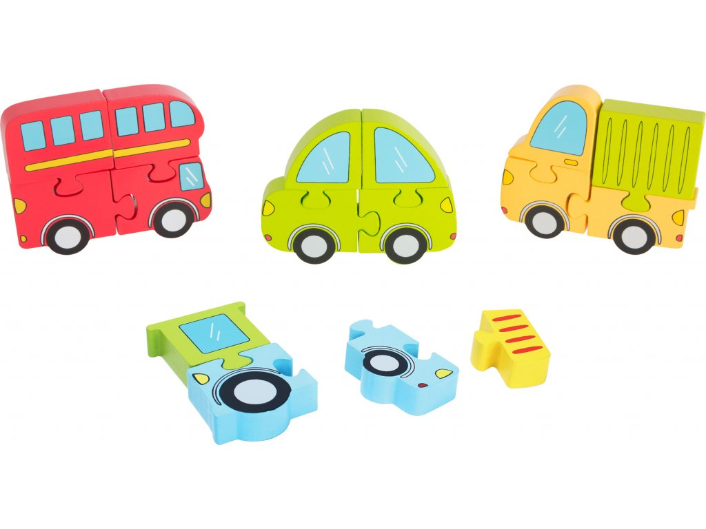10280 3d puzzle auta pro nejmensi