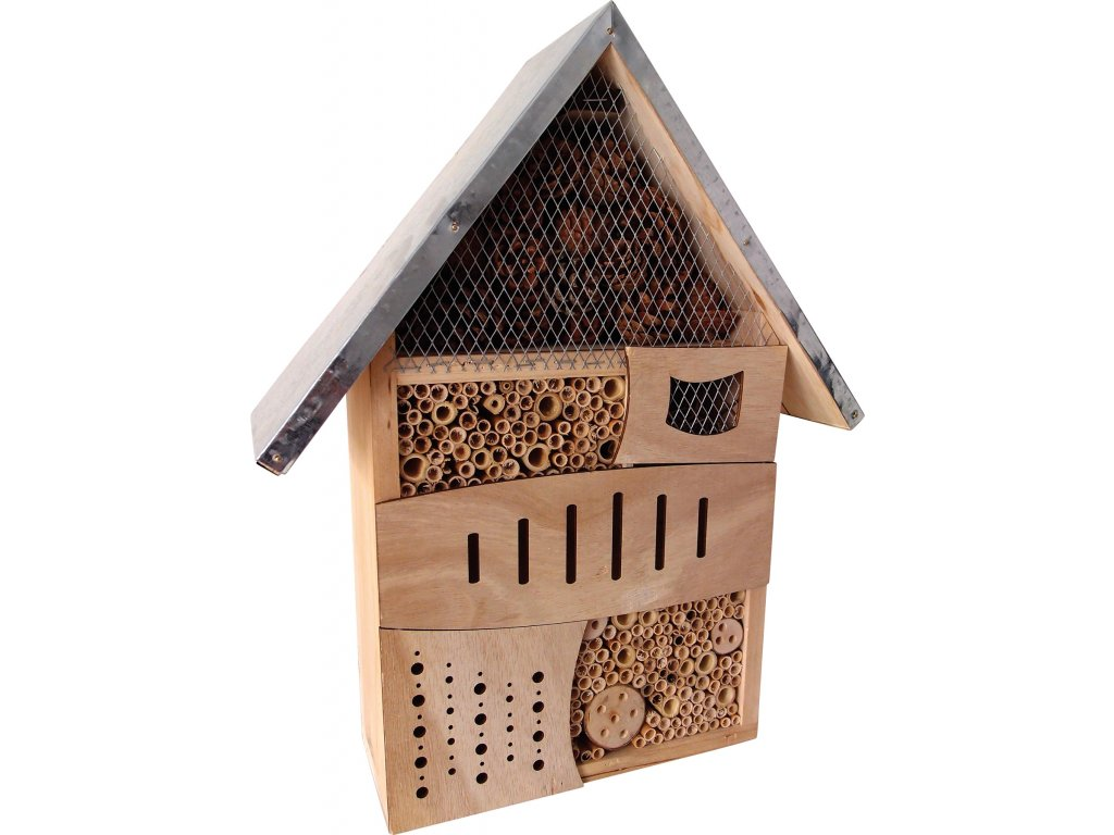 Dřevěný domeček pro hmyz - velký