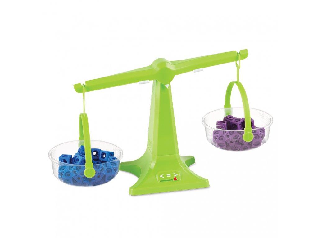 Balanční váhy - set váhy a vážící misky