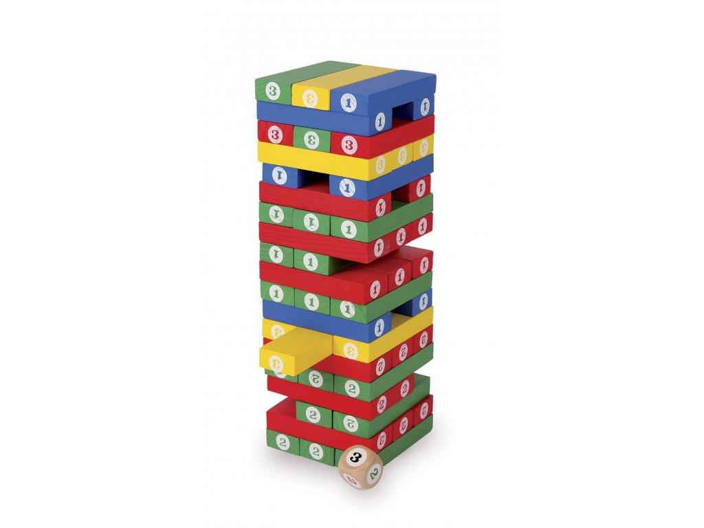 6298 ciselna balancni vez s hraci kostkou barevna 10 x 0 5 x 20 cm