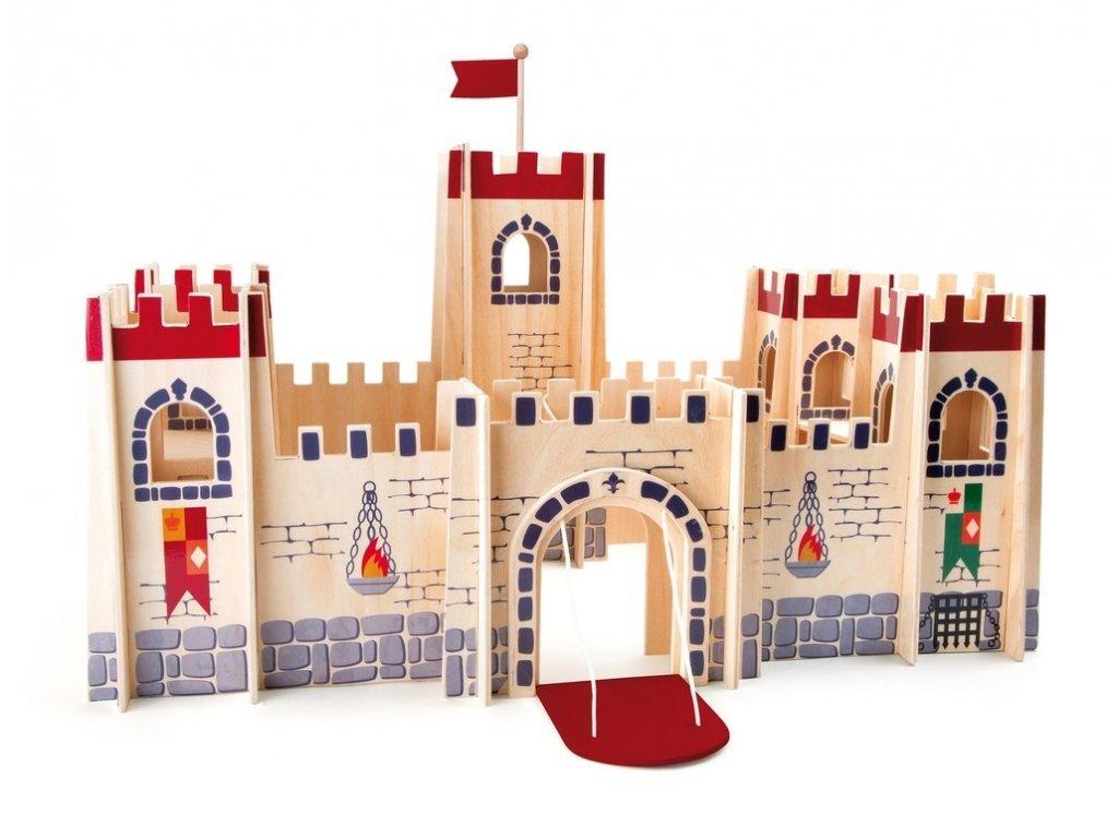 Hrad pro rytíře - 67x67x47 cm