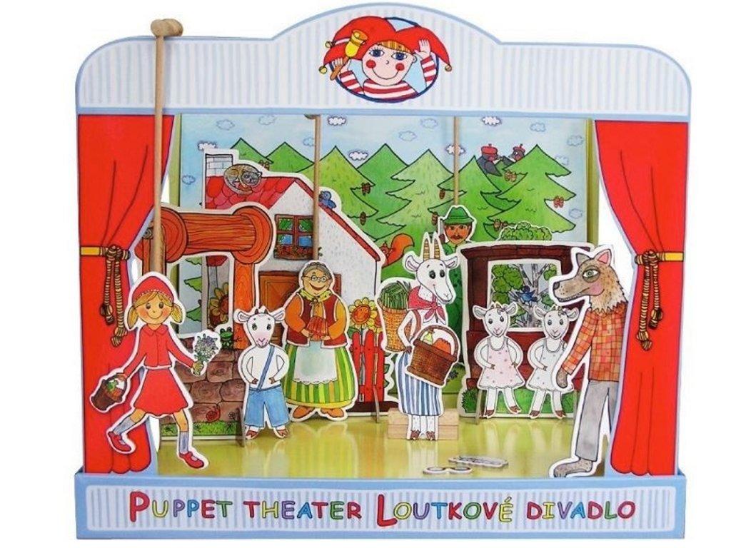 Loutkové divadlo Marionetino De Lux: Červená Karkulka, Perníková chaloupka a O neposlušných kůzlátkách