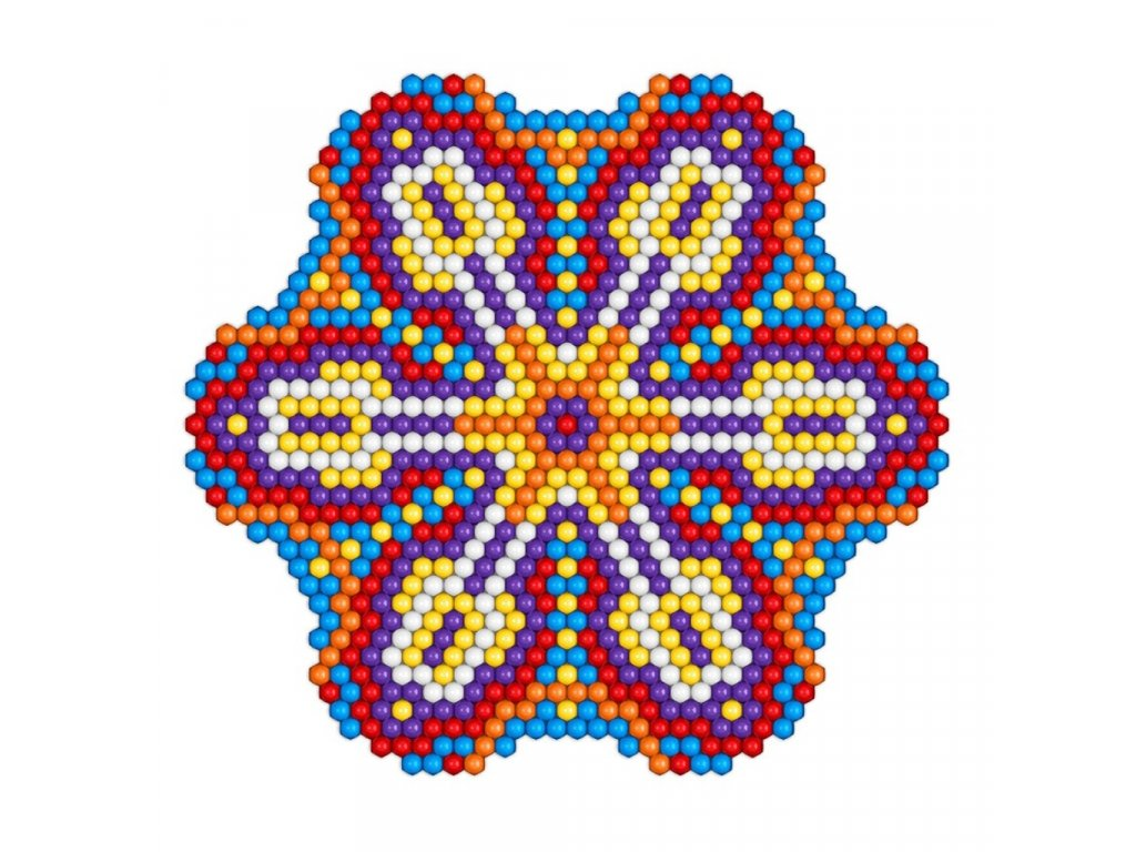 6667 pixel mandala daisy
