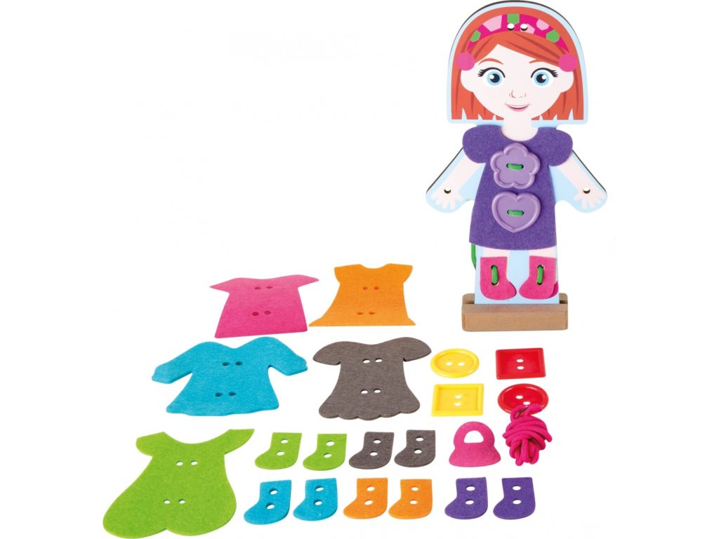 Oblékání panenky