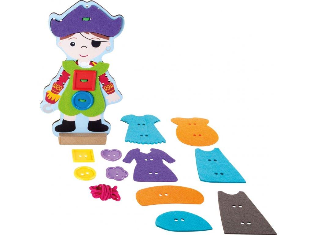 6763 oblekani pirata
