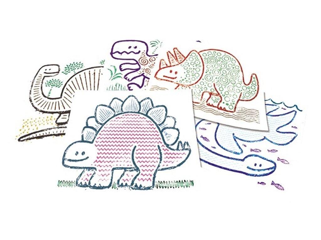 6949 reliefni podlozky dinosauri