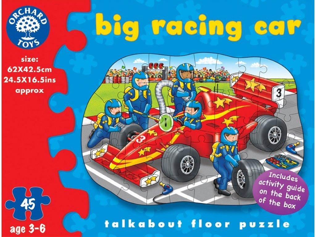 Formule - kartónové puzzle 45 dílků, 62 x 42,5 cm