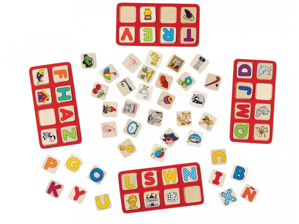 7423 moje abeceda 4 desky 110 hracich dilku