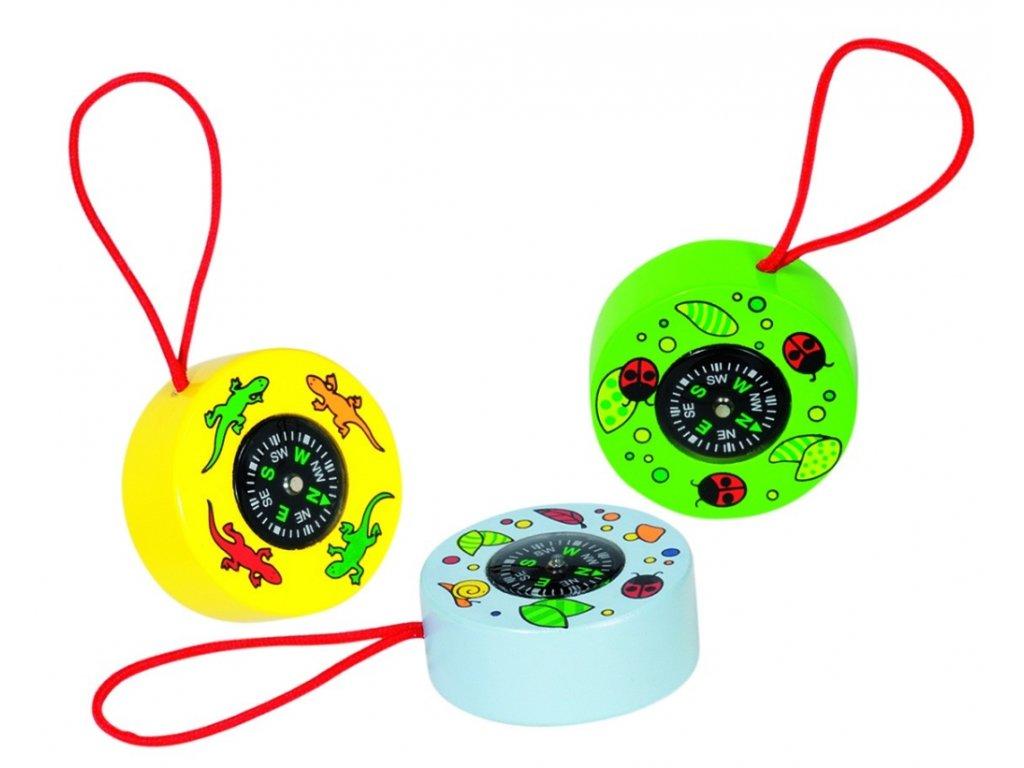 7684 kompas privesek vyber ze tri barev prumer 4 5 cm