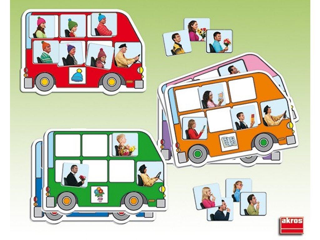 7897 autobus mnoziny didakticka hra na trideni do skupin