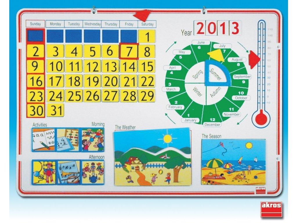 7951 skolni kalendar anglicky