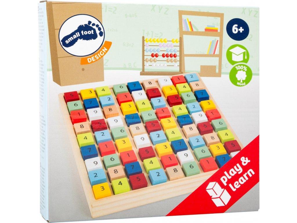 8053 barevne sudoku pro deti od 6 let