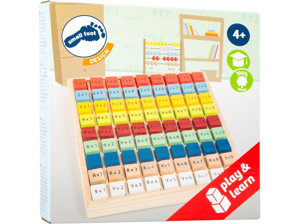 8056 matematicka pomucka barevna otocna nasobilka