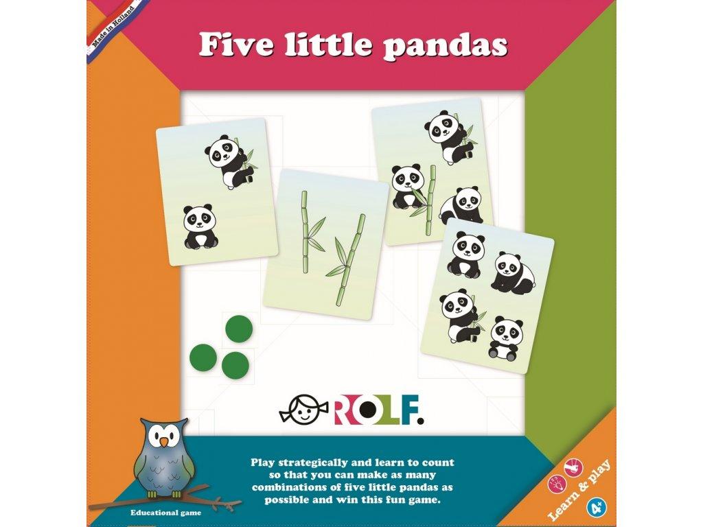 8221 spolecenska hra na procvicovani poctu pet malych pand