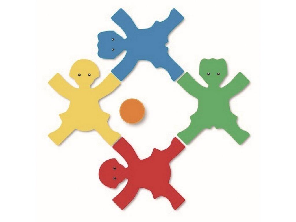 8224 spolecenska hra 4 barevne deti