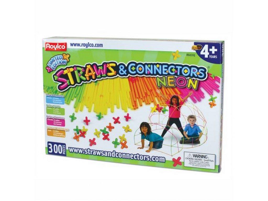 8254 straws and conectors neon