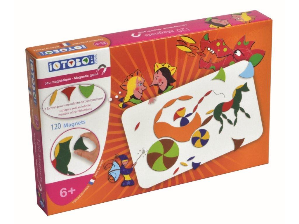 8266 magneticka skladacka iotobo classic pro deti od 6 let