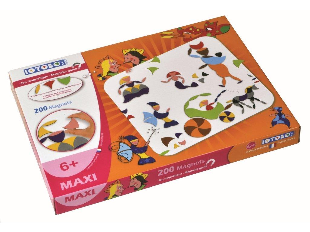 8272 magneticka skladacka iotobo maxi pro deti od 6 let