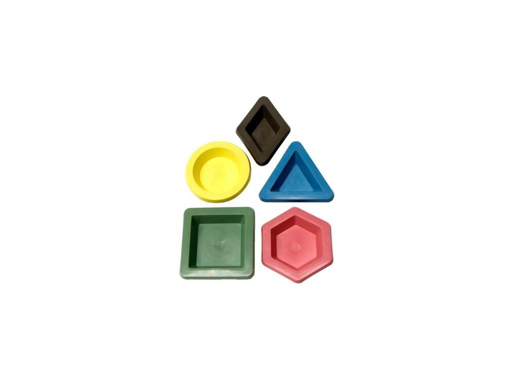 8967 set designovych babovek z ekologickeho plastu 5 kusu zluta zelena modra ruzova olivove zelena