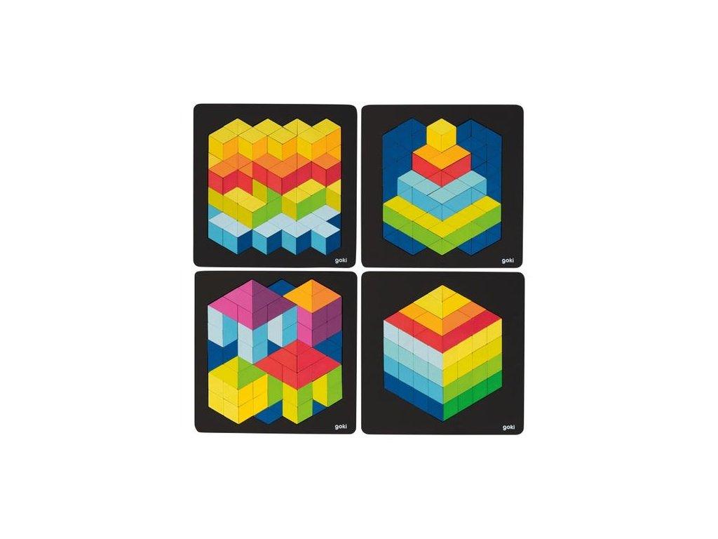 9042 3d kontrastni puzzle
