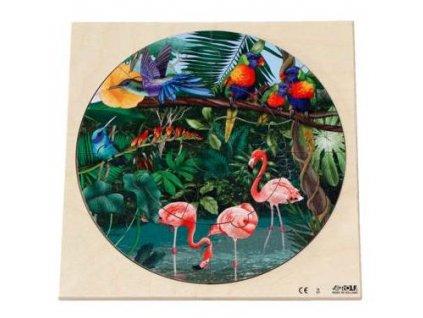 10526 drevene kulate puzzle divoky zivot v pralese