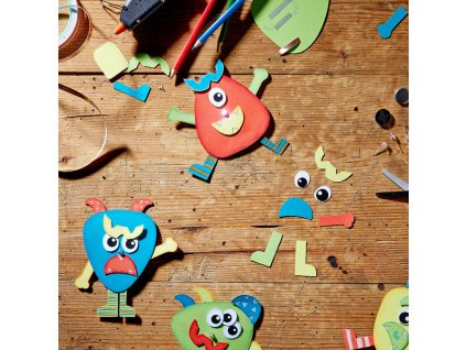 10544 kreativni set na vyrobu sviticich priserek pro skolky 12 kusu