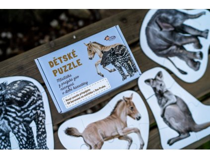 10746 1 autorske maxi puzzle zviratka z prazske zoo narozena v dobe karanteny