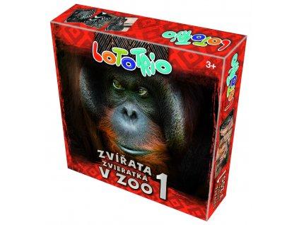LOTO-TRIO Zvířata v Zoo 1
