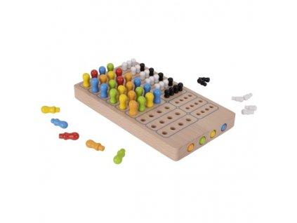 Dřevěná hra na trénování logiky Goki LOGIK