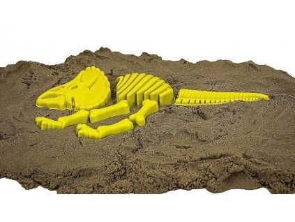 Bábovky na písek - kostra dinosaura