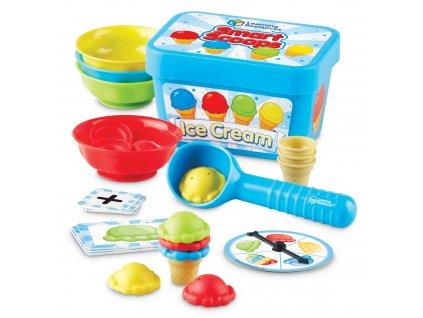 Kopečky zmrzliny - matematická hra - Smart Scoops™ Learning Resources