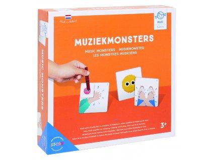 Didaktická hra na rozvoj rytmiky Rolf Music monsters