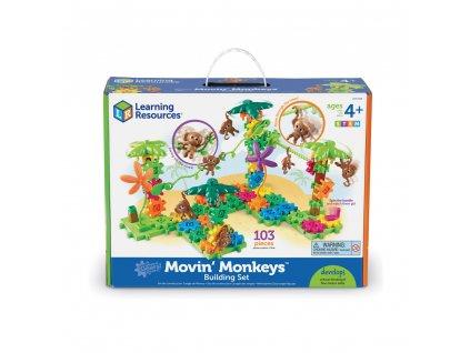 Stavebnice s opičkami Gears! Gears! Gears!® Movin' Monkeys™ Learning Resources