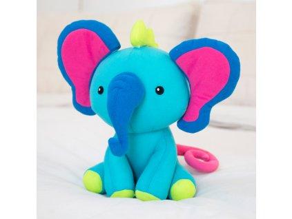 Kreativní plyšový slon Mixaroo™