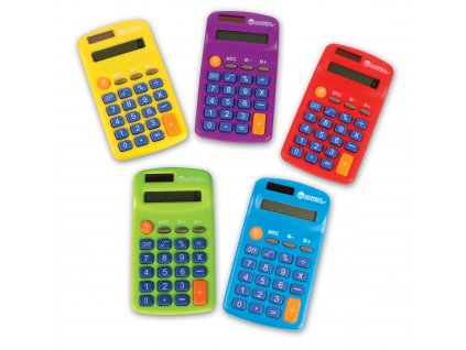 Barevná kalkulačka