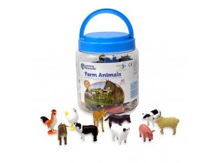 Figurky zvířátka Learning Resources®- 60 kusů