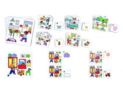 6442 najdi rozdil na obrazku 6 velkych karet 24 mensich karet a 35 malych obrazku