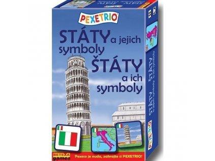 6499 pexetrio staty a jejich symboly