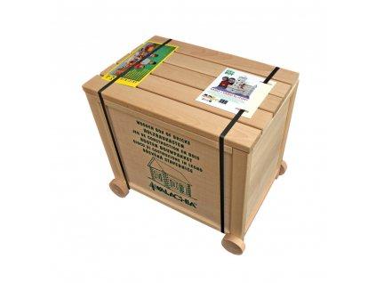 6799 4 ceska drevena stavebnice walachia vario box pro materske skoly 450 dilu