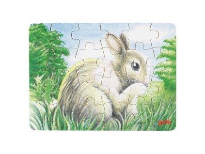 6814 mini darkova puzzle zviratka
