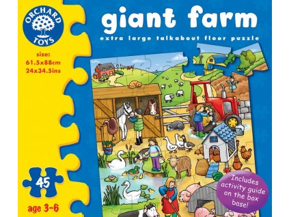 7222 velka farma kartonove puzzle 45 dilku 61 5 x 88 cm