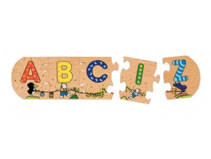 7432 puzzle abeceda 26 kusu 130 x 6 5 cm