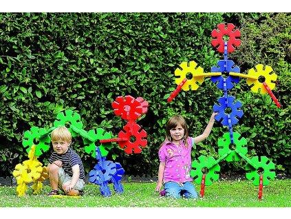 8206 obri kvetinova stavebnice 40 kusu