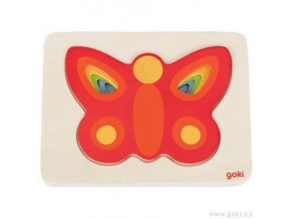 8829 vrstvici puzzle pro nejmensi motyli