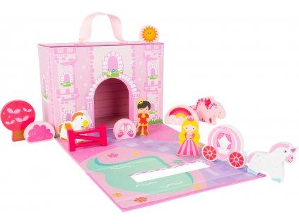 9051 hraci set princezny a zamek