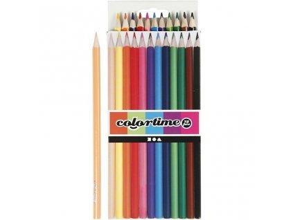 9173 barevne pastelky 12 kusu