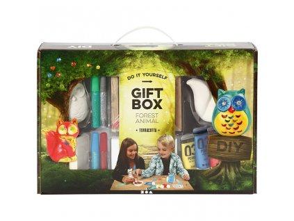 9191 kreativni darkovy box lesni zviratka pro dve deti